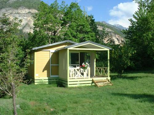 Le Prieur - Bungalows au Camping-Gtes