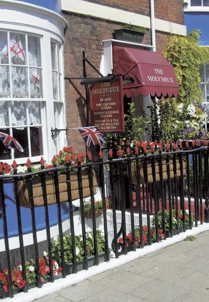Molyneux Guesthouse in Weymouth, Dorset, England