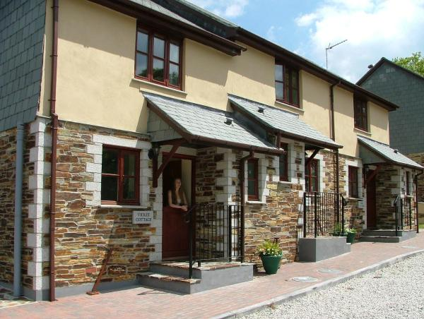 Juliots Well Cottages in Camelford, Cornwall, England