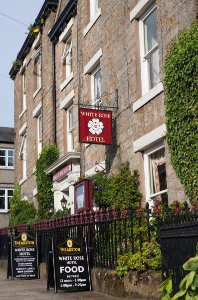 The White Rose in Askrigg, North Yorkshire, England