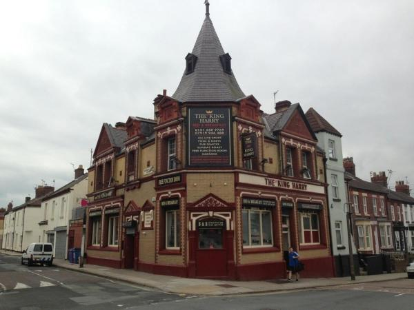 The King Harry Bar & Hostel in Liverpool, Merseyside, England