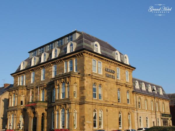 Grand Hotel in Tynemouth, Tyne & Wear, England