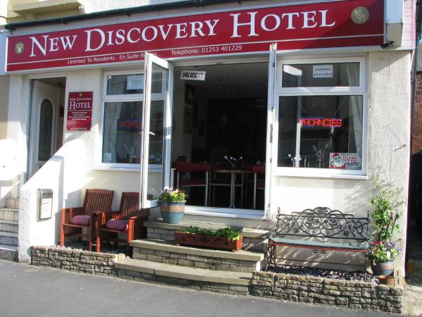 New Discovery Hotel in Blackpool, Lancashire, England