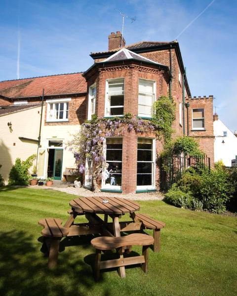 The Lawns Hotel in Holt, Norfolk, England