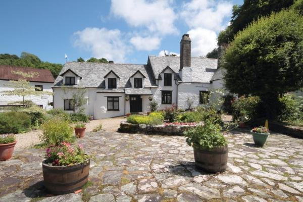 Chambercombe Cottages in Ilfracombe, Devon, England