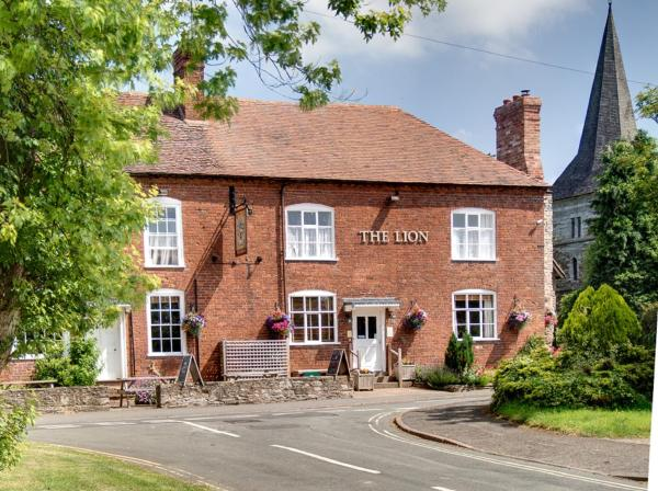 The Lion Inn in Clifton upon Teme, Worcestershire, England