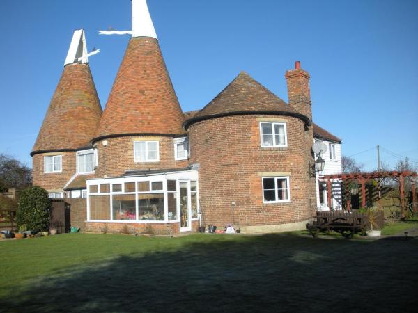 Manor Farm Oast in Winchelsea, East Sussex, England