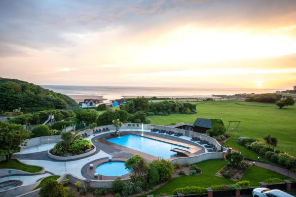 The Woolacombe Bay Hotel in Woolacombe, Devon, England