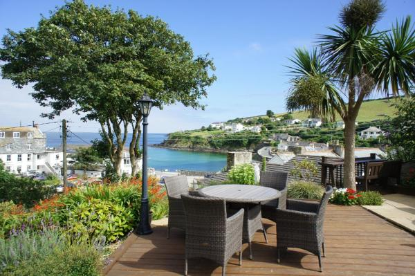 Portmellon Cove Guest House in Mevagissey, Cornwall, England