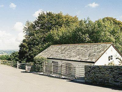 Milking Parlour in North Hill, Cornwall, England