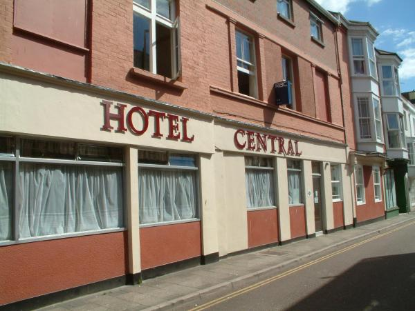 Hotel Central in Weymouth, Dorset, England