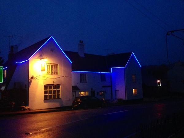 The Crown Inn in Lea, Herefordshire, England
