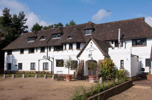 Roundabout Hotel in Pulborough, West Sussex, England