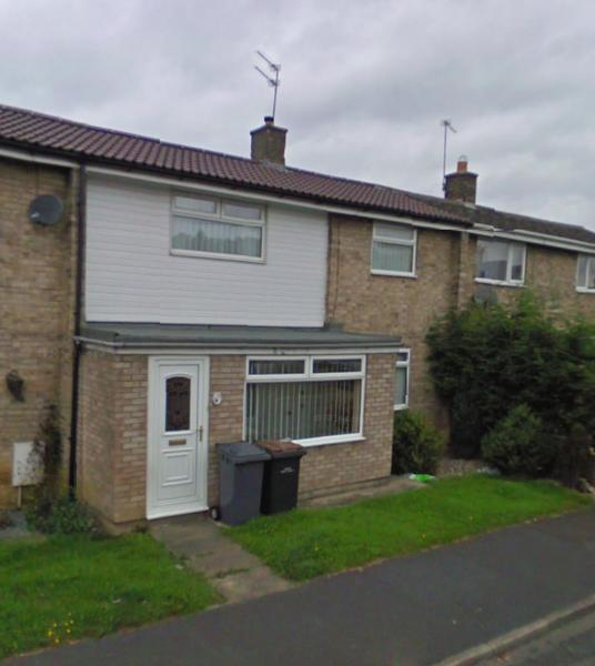 Mellanby Crescent in Newton Aycliffe, County Durham, England
