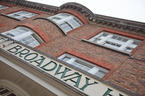 The Broadway Hotel in Letchworth, Hertfordshire, England