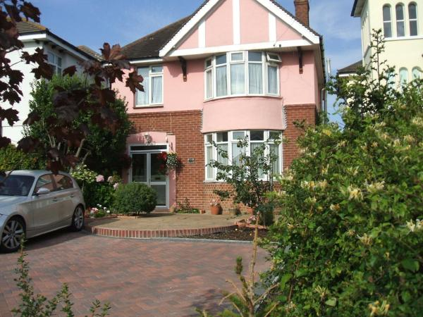 The Pink House in Weymouth, Dorset, England
