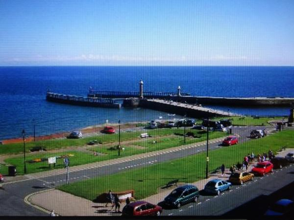 The Sandbeck Seafront Guest House in Whitby, North Yorkshire, England