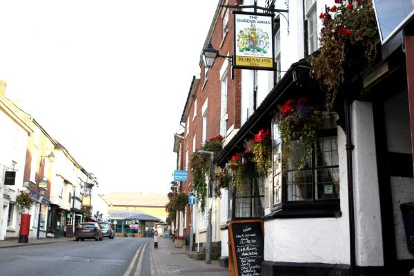 The Queens Arms in Bromyard, Herefordshire, England