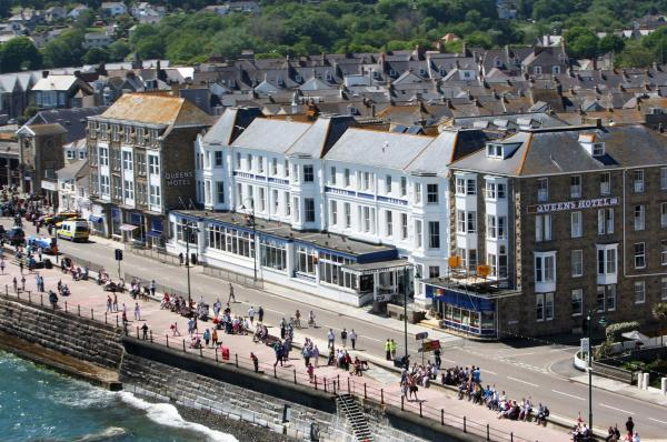 The Queens Hotel in Penzance, Cornwall, England