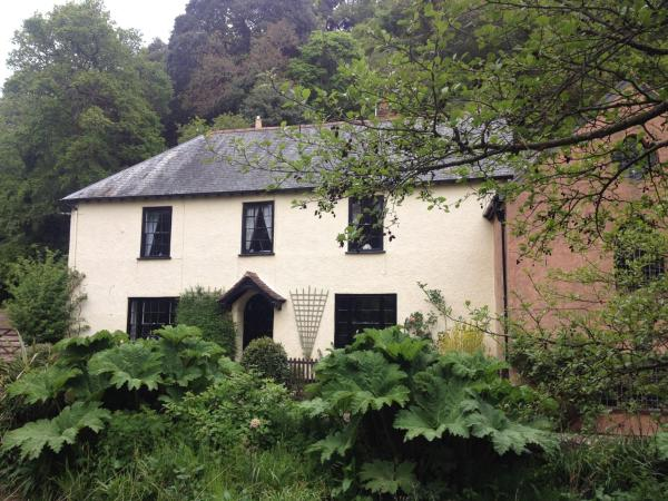 Dunster Mill House in Dunster, Somerset, England