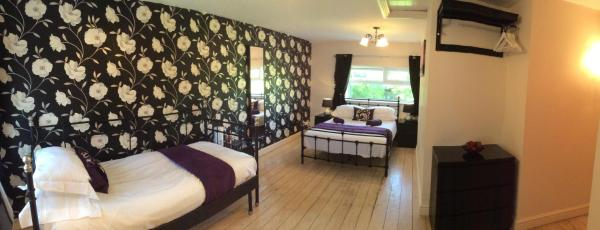 The Golden Lion Hotel in Middlewich, Cheshire, England