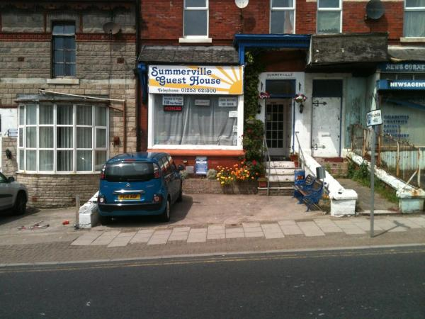 Summerville Guest House in Blackpool, Lancashire, England