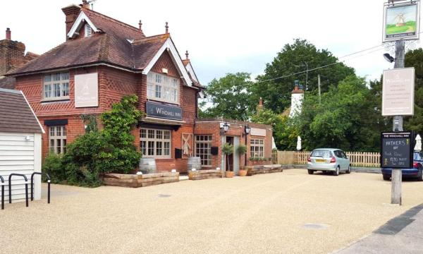 The Windmill Inn in Horsham, West Sussex, England