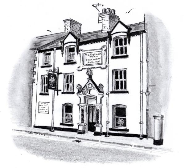 The Feathers in Ruthin, Denbighshire, Wales