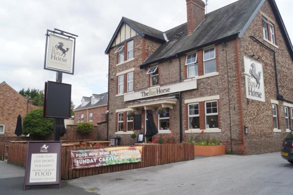 The Bay Horse in York, North Yorkshire, England