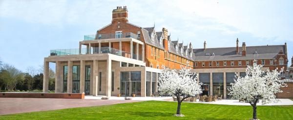 Stanbrook Abbey in Worcester, Worcestershire, England