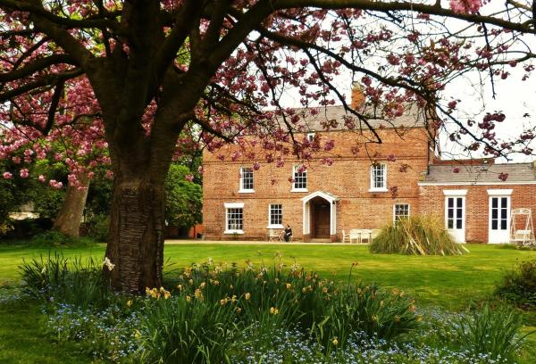 Little Mollington Hall in Chester, Cheshire, England