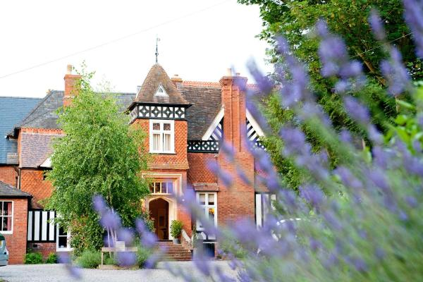 The Priory Hotel in Hereford, Herefordshire, England