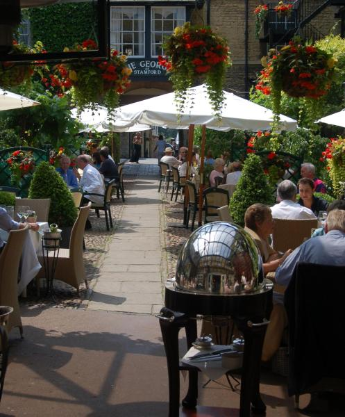 The George Hotel of Stamford in Stamford, Lincolnshire, England