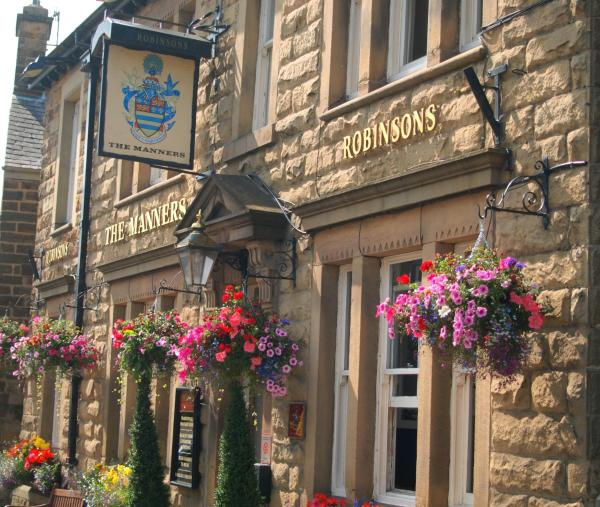 The Manners Pub with Rooms in Bakewell, Derbyshire, England