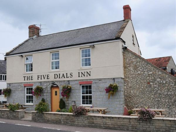 The Five Dials Inn in Ilminster, Somerset, England