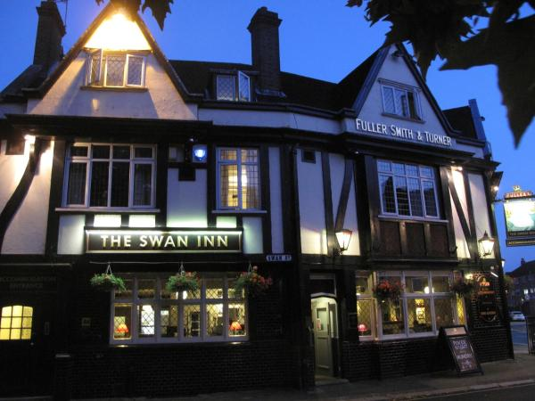 The Swan Inn Pub in Isleworth, Greater London, England
