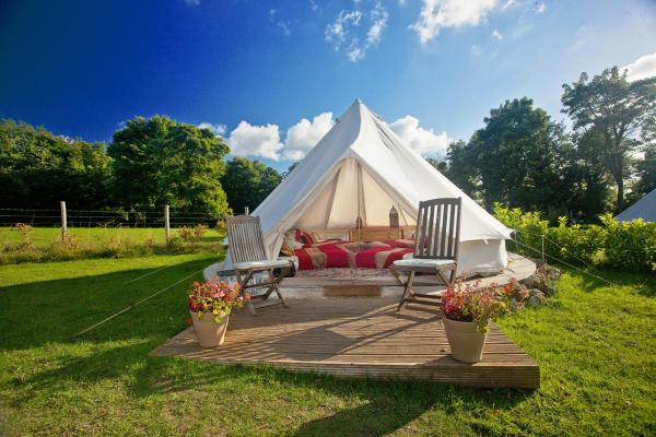 Kits Coty Glamping in Maidstone, Kent, England
