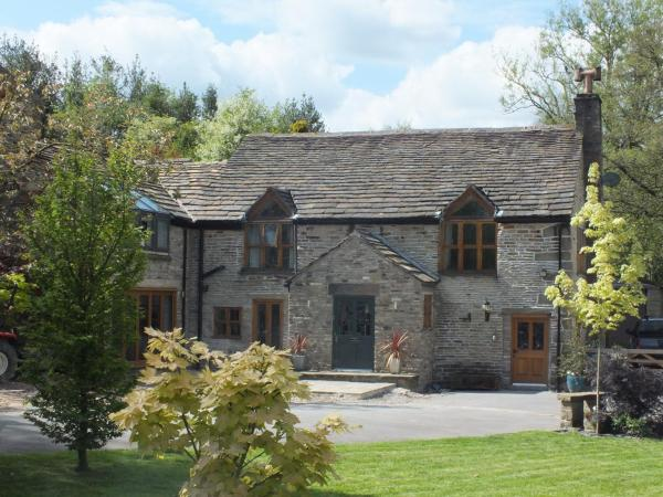 Ladygate Farm B and B in Birch Vale, Derbyshire, England