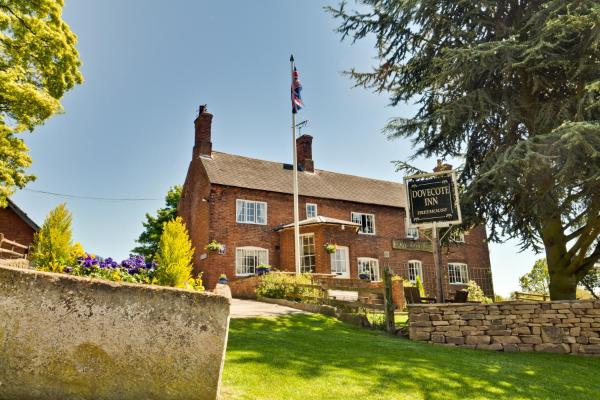 The Dovecote Inn in Laxton, Nottinghamshire, England