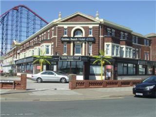 Golden Beach Hotel in Blackpool, Lancashire, North West England