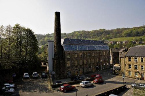Croft Mill in Hebden Bridge, West Yorkshire, North East England