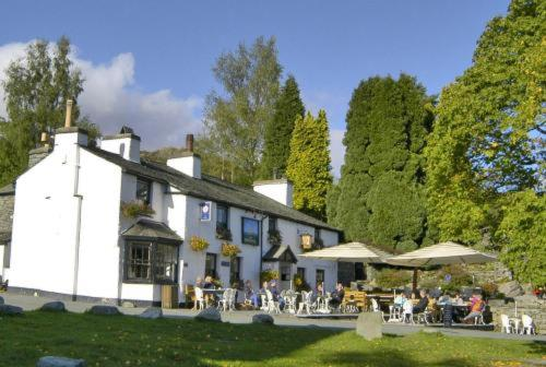 The Britannia Inn in Elterwater, Cumbria, North West England