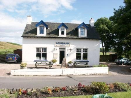 Ashbank Hotel in Carradale, Ayrshire, South West Scotland