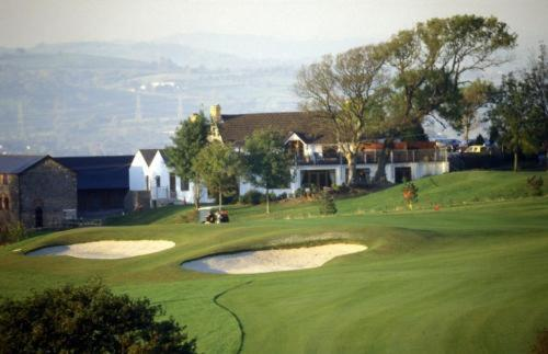The Gower Golf Club in Bishopston, Gwent and Glamorgan, South Wales