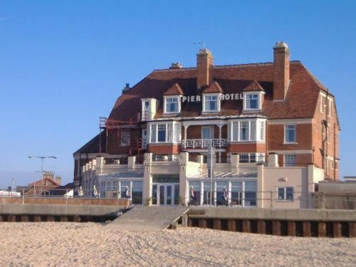 Pier Hotel in Great Yarmouth, Norfolk, East England