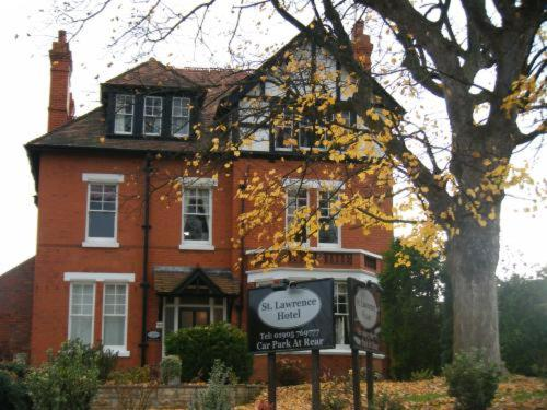 St.Lawrence Hotel in Worcester, Worcestershire, West England