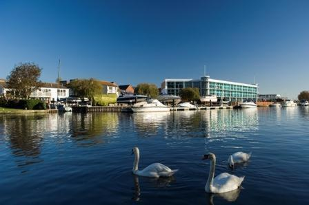 Captains Club Hotel Apartments and Spa in Christchurch, Dorset, South West England