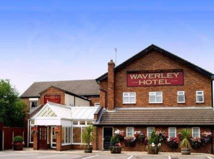 The Waverley Hotel in Crewe, Cheshire, North West England