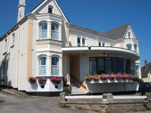 Rosslyn Hotel in Falmouth, Cornwall, South West England