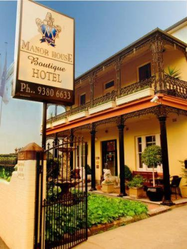 Manor house boutique hotel sydney low rates no booking for Sydney boutique hotel